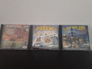 3 juegos PC windows 95/98
