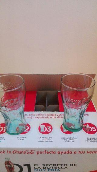 vasos coca cola originales