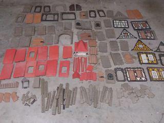 Gran lote Playmobil Famobil Medieval