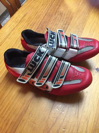 Zapatillas ciclismo Luck T-42
