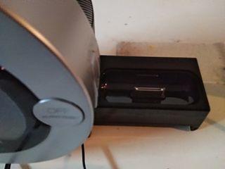 Reloj despertador con conexión ipod/ipad
