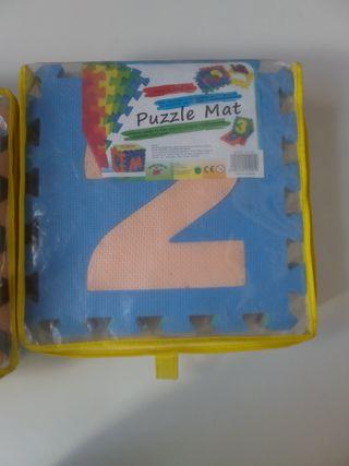 Puzzle gomaespuma números para niños