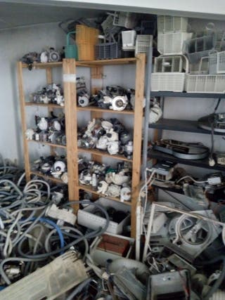 Piezas para electrodomésticos