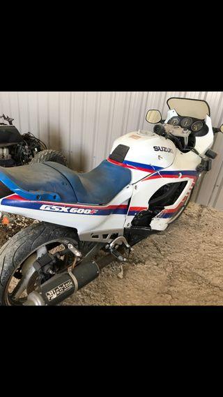 Suzuki gsx 600 1994