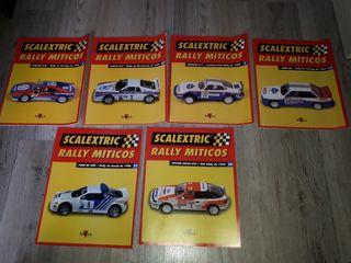 revistas scalextric rally miticos