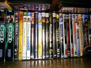 peliculas vhs y dvd