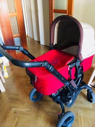 Silla bebé Jané Rider: 3 en 1