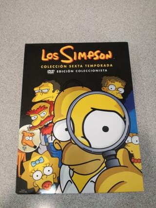Los Simpson - Pack DVD Sexta Temporada