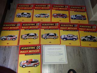 10 revistas rally miticos scalextric