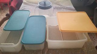 kit de fiambremar marca Tupperware