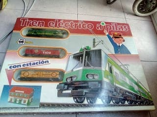 Tren eléctrico apilas