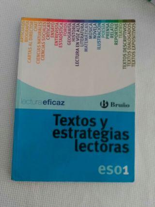 Textos y estrategias lectoras. 1 ESO. Bruño