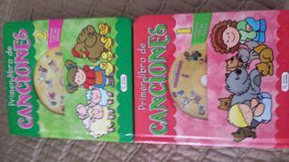 Primer libro canciones infantiles