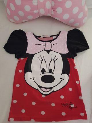 Camiseta Minnie Mouse T 6-8