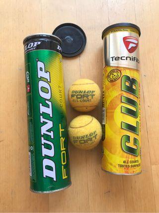 8 Pelotas tenis profesional