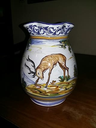 Jarrón cerámica de Talavera