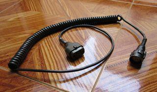 Cable para el casco de tanque Leopard
