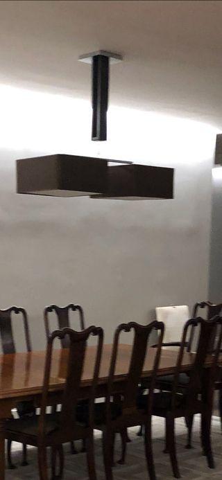 Lampara de mesa comedor