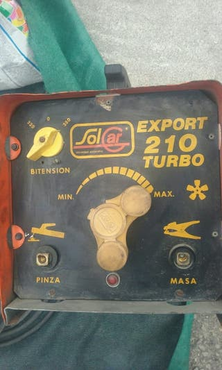 soldador inventer export 210 turbo