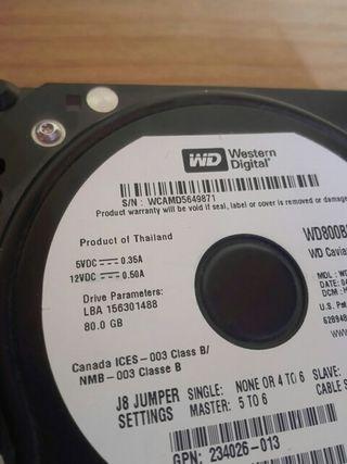 Western digital 80Gb