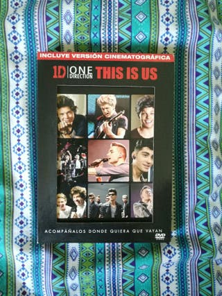 DVD This Is Us de One Direction