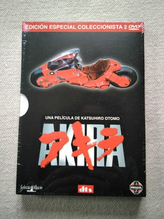 "Edición para coleccionistas de ""Akira"" en DVD"