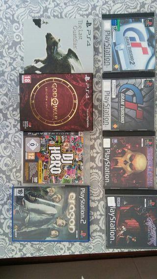 juegos varios psx ps2 ps3 ps4