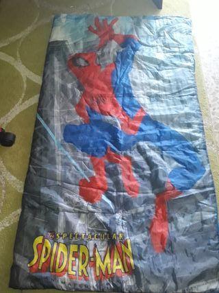 saco para dormir Spiderman