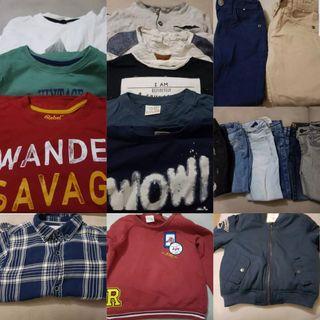 Lote de ropa invierno niño talla 3-4