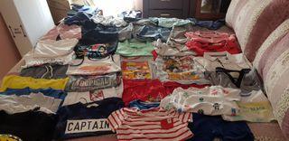 lote de ropa de verano niño 3 años