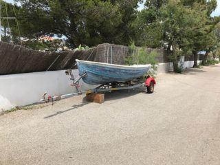 Vendo barca + remolque