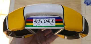 Sillín GES RECORD amarillo