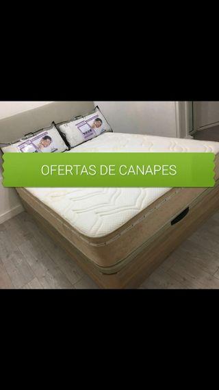 CANAPÉS Y COLCHÓN EN OFERTA