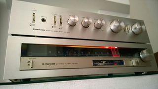 Amplificador Pioneer SA-410 + Sintonizador TX-410
