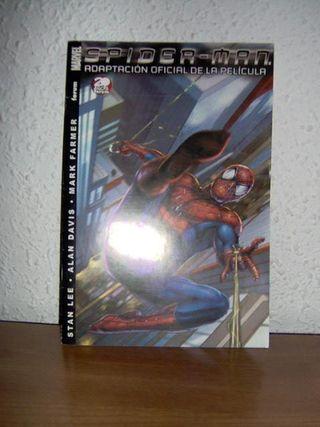 Adaptación al comic de la película Spider-Man