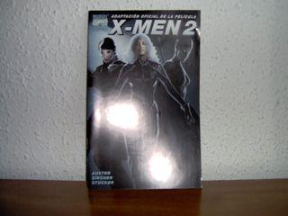 Adaptación al comic de la película X-Men 2 (2003)