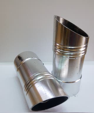 Colines / colas escape aluminio