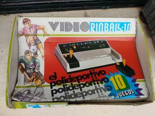 VIDEO PIMBALL 10 consola retro