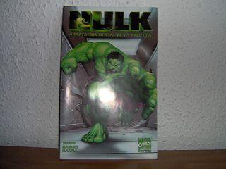 Adaptación al comic de la película Hulk (2003)