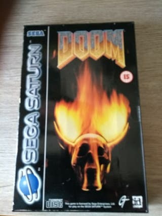 Doom Sega Saturn PAL
