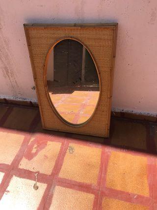 Espejo ovalado 70x50
