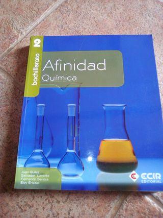 Llibre Química 2n Batxillerat (Afinidad, Ed Ecir)
