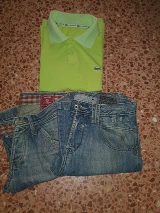 Lote hombre t 38,40