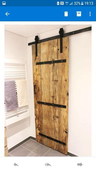 Puertas correderas completas en madera