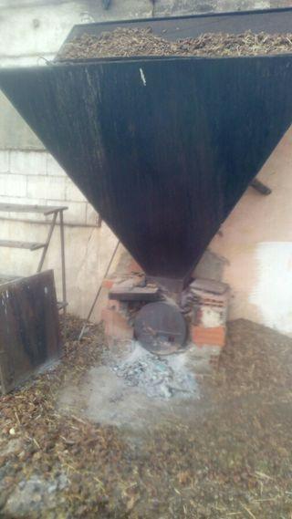 Estufa por aire profesional para naves