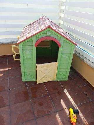 casa niños jardín