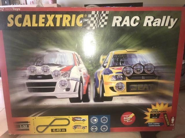 Scalextric RAC rally