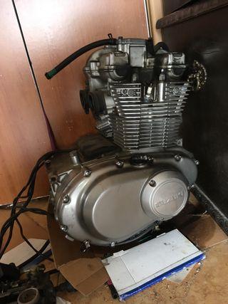Motor averiado Susuki GS500