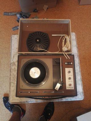 tocadiscos conver años 70