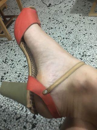 849809cee147 Rojos Por De Segunda 35 Camper Mano Zapatos fwqUpdxd